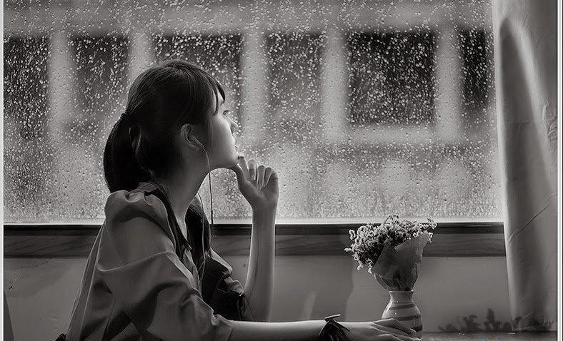 Truyện tình yêu tuổi học trò: Cơn mưa chiều bên khung cửa sổ