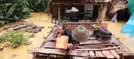 thơ về lũ lụt miền trung